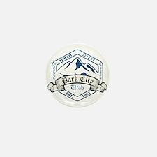 Park City Ski Resort Utah Mini Button