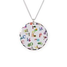 I learn the alphabet Necklace