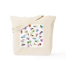 I learn the alphabet Tote Bag