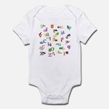 I learn the alphabet Body Suit
