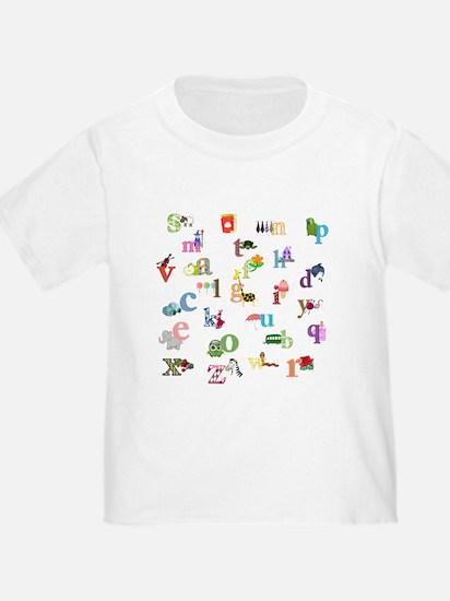 I learn the alphabet T-Shirt