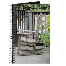 Wooden Rocking Chair Journal