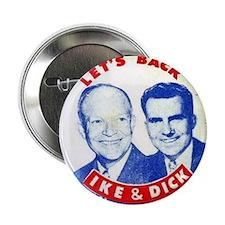 Dwight D. Eisenhower/Richard M. Nixon Button