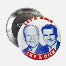 Dwight D. Eisenhower/Richard M. Nixon Button