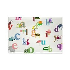 I learn the alphabet Magnets