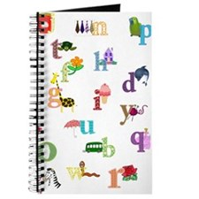 I Learn The Alphabet Journal