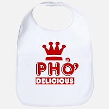 Pho King Delicious Bib