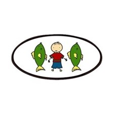 Fishing Boy Patches