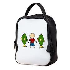 Fishing Boy Neoprene Lunch Bag
