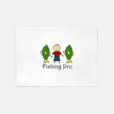 Fishing Pro 5'x7'Area Rug