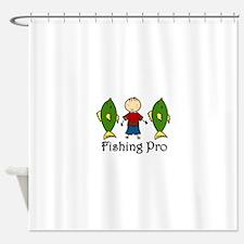 Fishing Pro Shower Curtain