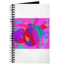 Unique Psychedelic Pink Design Journal