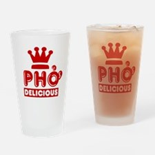 Pho King Delicious Drinking Glass