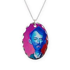 """Blue Thom Yorke"" Necklace"