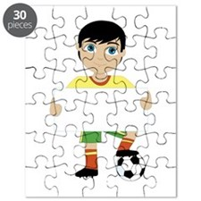 Soccer Boy Puzzle