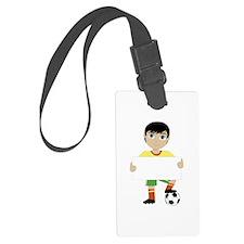 Soccer Boy Luggage Tag
