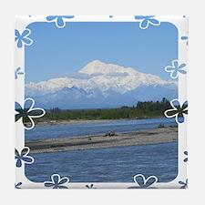 Mount Mckinley Tile Coaster