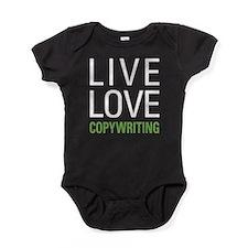 Live Love Copywriting Baby Bodysuit