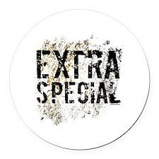 Extra Special Round Car Magnet