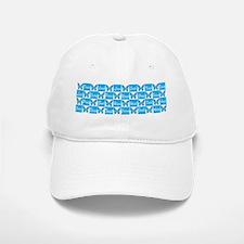 BLUE BUTTERFLY Baseball Baseball Cap