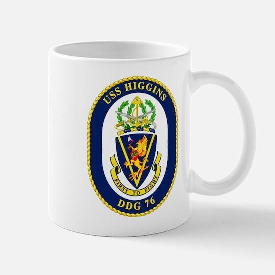 DDG 76 USS Higgins Mug