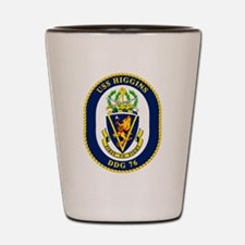 DDG 76 USS Higgins Shot Glass