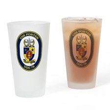 DDG 78 USS Porter Drinking Glass