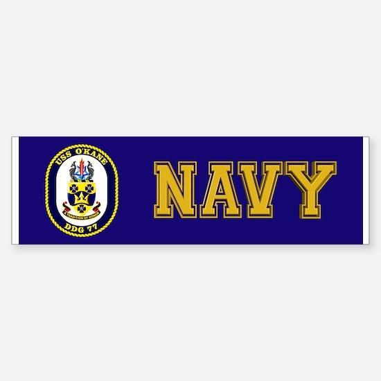 USS O'Kane DDG-77 Sticker (Bumper)