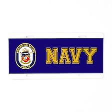 DDG 79 USS Oscar Austin Aluminum License Plate