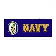DDG 76 USS Higgins Aluminum License Plate