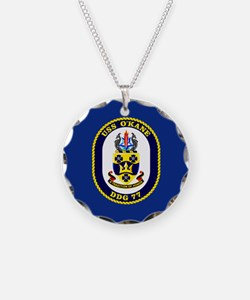 USS O'Kane DDG-77 Necklace