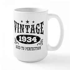Vintage 1934 Mug