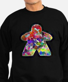 Stained Glass Meeple Sweatshirt