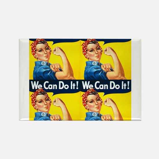 Rosie the Riveter We Can Do It Magnets