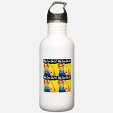 Rosie the Riveter We Can Do It Water Bottle