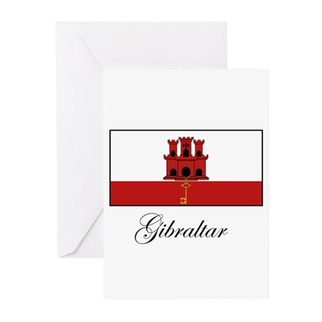 Gibraltar - Flag Greeting Cards (Pk of 10)
