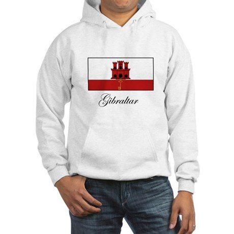 Gibraltar - Flag Hooded Sweatshirt