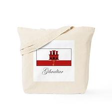 Gibraltar - Flag Tote Bag