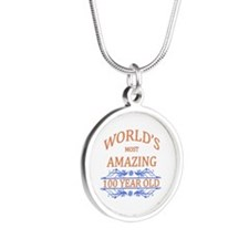 World's Most Amazing 100 Yea Silver Round Necklace