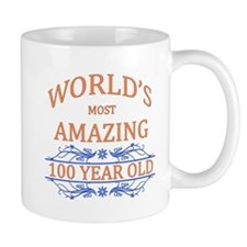 World's Most Amazing 100 Year Old Small Mug