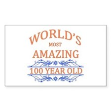 World's Most Amazing 100 Year Decal