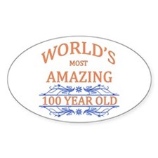 World's Most Amazing 100 Year Old Decal