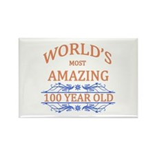 World's Most Amazing 100 Year Old Rectangle Magnet