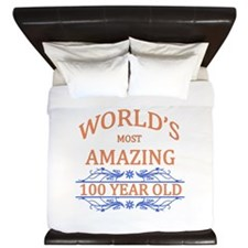 World's Most Amazing 100 Year Old King Duvet