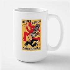 CHU Buster Keaton Cameraman poster Mugs