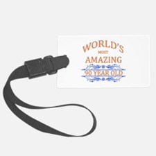 World's Most Amazing 90 Year Old Luggage Tag