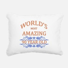 World's Most Amazing 90 Rectangular Canvas Pillow