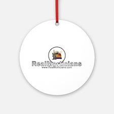 Real Morticians Logo Ornament (Round)
