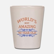 World's Most Amazing 90 Year Old Shot Glass
