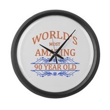 World's Most Amazing 90 Year Old Large Wall Clock